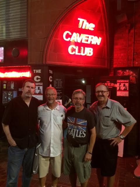 L-R: Joe Lahiff, Phil Santoro, Ed Torres, and me, mark Marchand